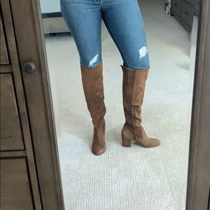 Leather Steve Madden Knee High Boots
